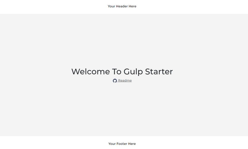 Gulp Starter